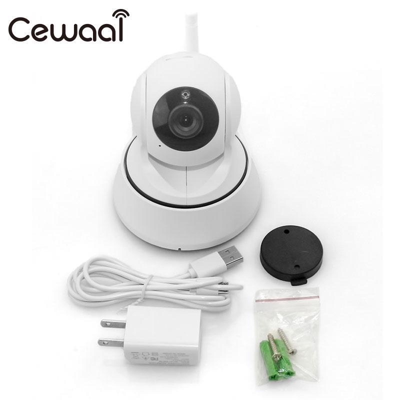 Cewaal HD 720 P 1.0MP Kablosuz WiFi IP Ağ Kamera Webcam Bebek Pet Kamera